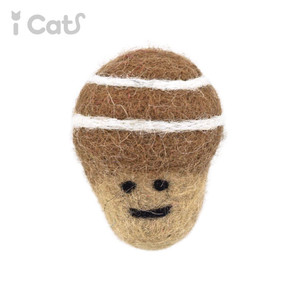 iCaTOY コロコロフェルトTOY どんぐり 【 卸 猫用品 】