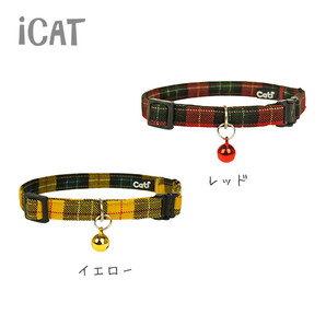 iCat アイキャット カジュアルカラー ツイルチェック
