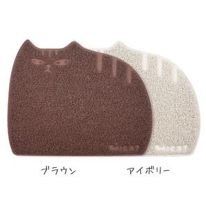 iCat アイキャット オリジナル しまネコ砂取りマット