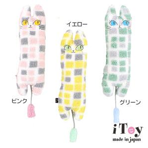 iDog アイドッグ iToy ユキちゃんの仲間たち タイル柄 キャットニップ 【卸 猫用品】