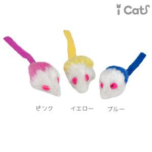 iCat ふわふわロングしっぽねずみ アイキャット 【 卸 猫用品 】
