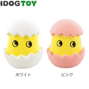 IDOG&ICAT オリジナル ラテックスTOY ヒヨっ子たまご