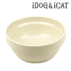 IDOG&ICAT オリジナル スタックフードボウル アイボリー