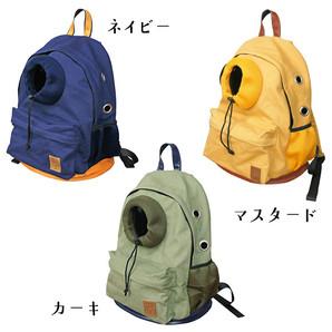 iDog オープンフェイスバックパック キャンバス【卸 ペット用品】