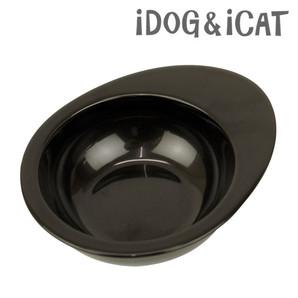 IDOG&ICAT オリジナル ドゥーエッグフードボウル 無地ブラック