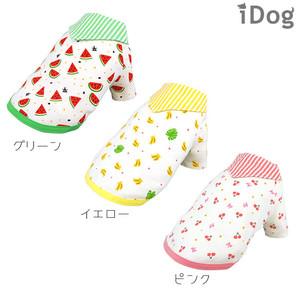 iDog フルーツセーラーTシャツ moscape アイドッグ 防虫 モスケイプ 虫よけ【 卸 犬服 】