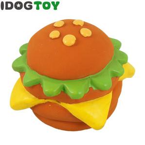 IDOG&ICAT オリジナル ラテックスTOY ビッグなハンバーガー