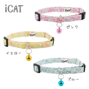 iCat カジュアルカラー 小花柄
