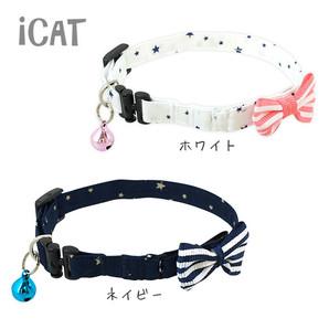iCat キティカラー スター×ボーダーリボン