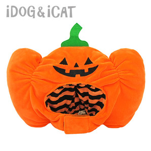 iDog 変身かぶりものスヌード おばけかぼちゃ アイドッグ