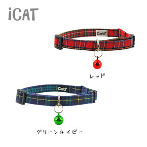 iCat カジュアルカラー チェック柄