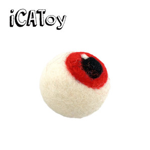 iCat iCaTOY フェルトのコロリ目玉