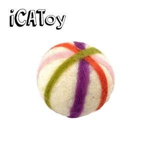 iCat iCaTOY フェルトのコロコロ手毬