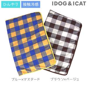 IDOG&ICAT ひんやりキルトマット ワイド チェック アイドッグ 【 卸 ペット用品 】