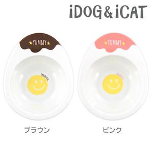 IDOG&ICAT オリジナル ドゥーエッグフードボウル スマイリーエッグ