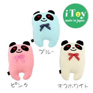 iDog アイドッグ 国産おもちゃ iToy ころころパンダ カシャカシャ入り