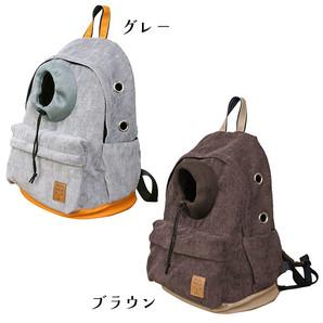 iDog オープンフェイスバックパック コーデュロイ【卸 ペット用品】