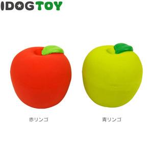 iDog アイドッグ オリジナル ラテックスTOY コロコロりんご