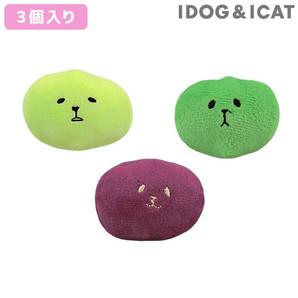 IDOG&ICAT コマメブラザーズ 3色セット アイドッグ