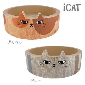 iCat オリジナル 猫のくつろぎつめとぎ ふて猫 アイキャット【卸 猫用品】