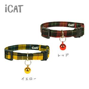iCat アイキャット キティカラー ツイルチェック