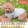 iDog チェックスターワッフルタンク アイドッグ【卸 犬用品】