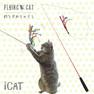 iCat FLYING CAT 釣りざお猫じゃらし てんとう虫ボール【卸 猫用品】