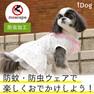 iDog とんがり襟のスターワンピース moscape 【卸 犬用品】