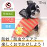 iDog オレンジボーダータンクmoscape アイドッグ【卸 犬用品】