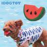 iDog&iCat オリジナル ラテックスTOY かじったスイカ【卸 犬用品】