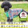 iDog おめかしライオンのチェックTシャツmoscape アイドッグ【卸 犬用品】